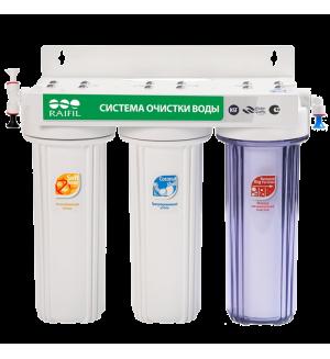 Проточный фильтр RAIFIL TRIO - R